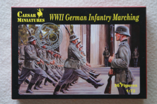 Caesar Miniatures 1/72 CMH081 German Infantry Marching (WW2)